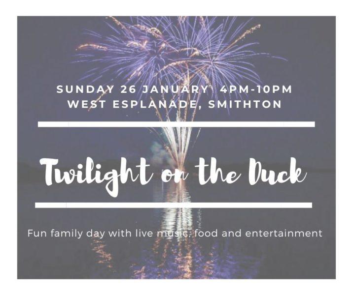 Australia Day Celebrations / Twilight on the Duck Sunday 26th Jan, 2020