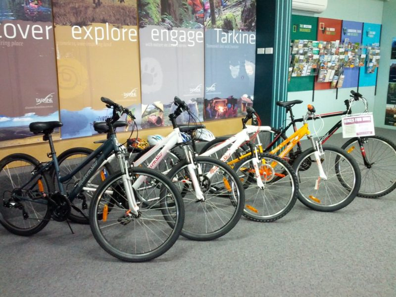 Stanley Visitor Information Centre Bicycle Hire